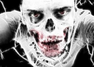 thinking zombie (image)
